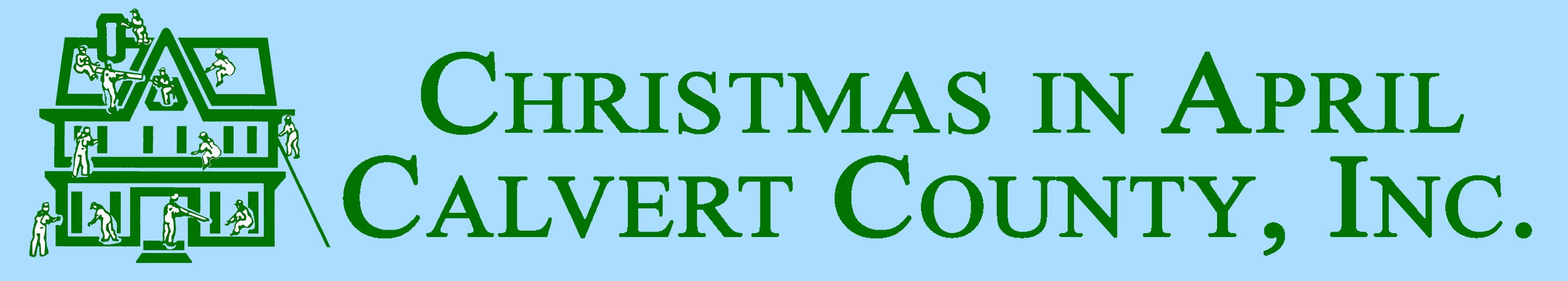 Christmas in April Calvrt County Logo